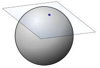 example of tangent space