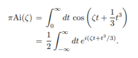 integral airy function
