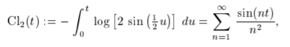clausen function