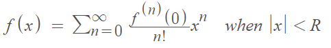 real analytic function taylor series