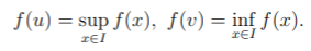 formal definition of min-max theorem