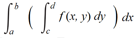 iterated integral