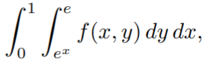 iterated integral 2