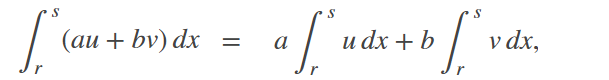 linear operator integral