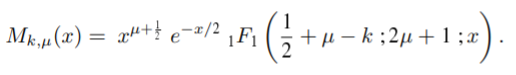 definition of whittaker function