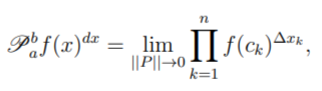 product integral