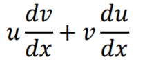 differentiate by parts formula