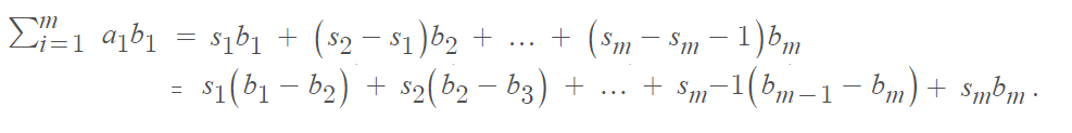 proof of abels' inequality