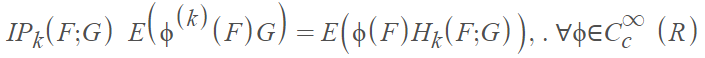 malliavin calculus integration by parts