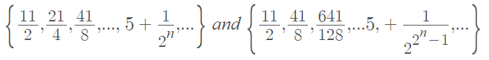 order of convergence example