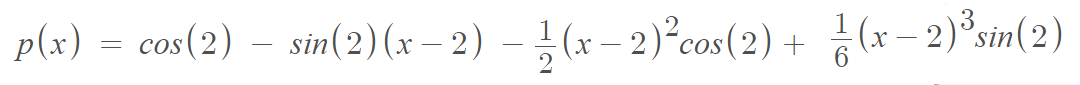 how to make a taylor series