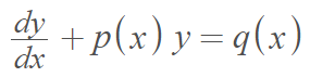 linear form differential equation
